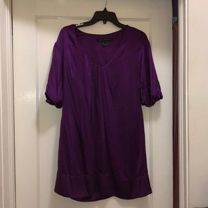 Purple Silk French Connection Dress